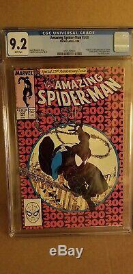 Amazing Spiderman 300 CGC 9.2 Key Issue 1st Venom