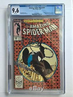 Amazing Spiderman 300 CGC 9.6 NM+ No Grader Notes Not Pressed Should Be a 9.8