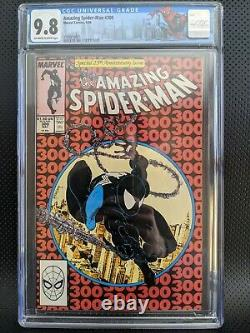 Amazing Spiderman #300 CGC 9.8 1st Venom App. Spidey Label