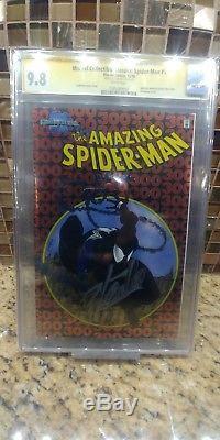 Amazing Spiderman 300 chromium 9.8 CGC SS Stan Lee