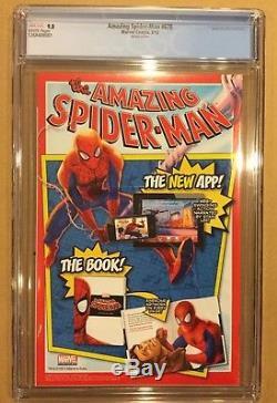 Amazing Spiderman # 678 Cgc 9.8. Quinones Mary Jane Venom Variant! Hard To Find
