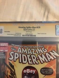Amazing Spiderman 678 Variant CGC 9.8 Mary Jane Venom Suit first printing