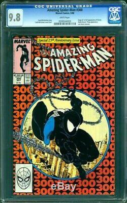 Amazing spider-man 300 cgc 9.8 FIRST VENOM