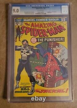 Amazing spiderman 129 CGC 9.0 first appearance of Punisher