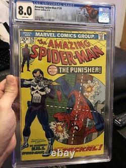Amazing spiderman 129 cgc 8.0