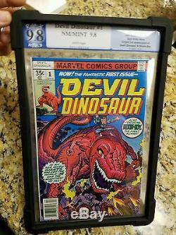 Amazing spiderman 129 like cgc devil dinosaur 1 (9.8)key lot
