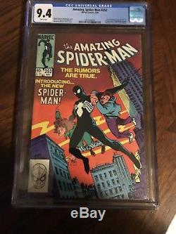 Amazing spiderman 252 cgc 9.4
