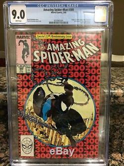 Amazing spiderman #300 cgc graded 9.0