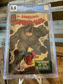Amazing spiderman 41 cgc 3.5