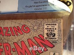 Amazing spiderman #6 pgx 8.0 the lizard intro not cgc