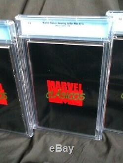 CGC 9.8 Amazing Spider-Man 316 & Venom 1 + 9.6 ASM 300 Marvel Clasicos REPRINTS