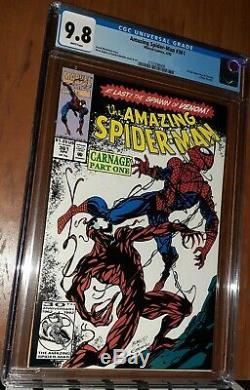 CGC 9.8 Amazing Spider-Man # 361 First 1st Appearance of Carnage Venom 2 Movie
