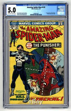 L8101 Amazing Spiderman #129, Vol 1, 5.0 Graded CGC
