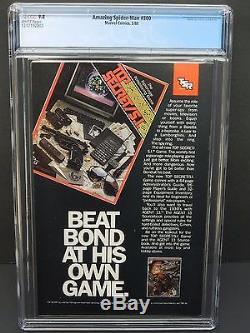 MARVEL AMAZING SPIDER-MAN #300 1988 CGC 9.8 1st FULL VENOM NEWSSTAND UPC EDITION
