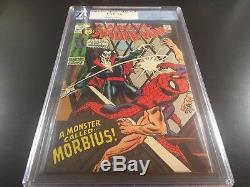 MARVEL Comics AMAZING SPIDER-MAN #101 KEY 1st MORBIUS Vampire PGX 7.0 Not CGC