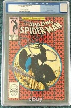 MARVEL'S AMAZING SPIDER-MAN #300 CGC 9.0 1st APP VENOM! + BONUS Reprint & #306