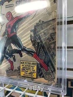 Marvel Amazing Fantasy #15 1st Appearance Spiderman Key CBCS NOT CGC 1.0 24