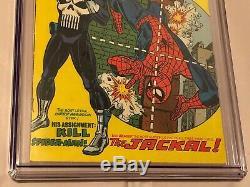 Marvel Comics 1974 Amazing Spider-Man #129 CGC 5.0 1st Punisher Appearance