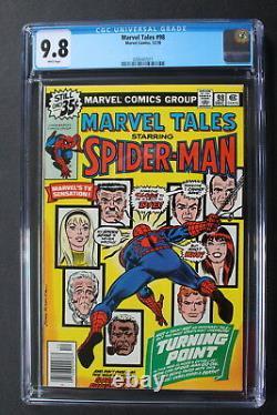 Marvel Tales #98 Death GWEN STACY GREEN GOBLIN Amazing Spider-Man 121-r CGC 9.8
