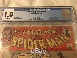 RARE Amazing Spider-Man #4 (Sep 1963, Marvel comics) CGC 1.0 1st app Sandman KEY