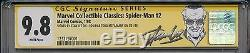 Spider-Man 1990 1 CGC 9.8 SS Chromium Amazing Stan Lee Todd McFarlane Venom 300
