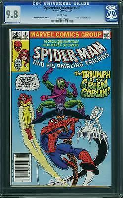 Spider-man and His Amazing Friends #1 CGC 9.8 1981 cm