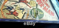 THE AMAZING SPIDER-MAN #1 (1963) CGC 5.0 OWithW SUPER KEY NO CHIPPING