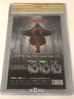 THE AMAZING SPIDER-MAN #1 CGC 9.8 SS SIGNED STAN LEE RAMOS OLAZOBA DELGADO Day 1