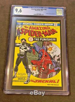 THE AMAZING SPIDER-MAN #129 CGC 9.6 NM+ 1st PUNISHER Hasbro Action Figure 2006