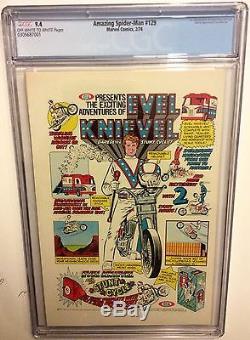 THE AMAZING SPIDER-MAN # 129, cgc 9.4 1st Punisher. Daredevil, Lee, Romita