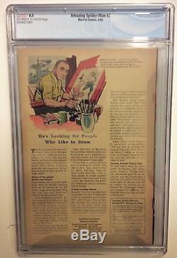 THE AMAZING SPIDER-MAN #2 CGC 6.5 1 st APP ADRIAN TOMBS VULTURE, Stan Key Movie