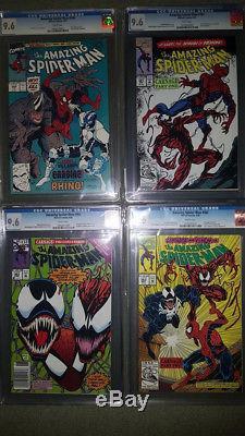 THE AMAZING SPIDER-MAN #300 CGC 9.6 VENOM & SYMBIOTE LOT (May 1988, Marvel)