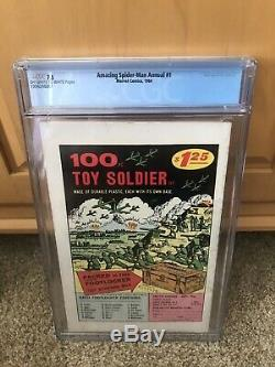 THE AMAZING SPIDER-MAN Annual #1 (Sinister Six 1st app) CGC 7.5 VF- Marvel 1964
