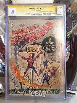 The Amazing Spider-Man #1 CGC 0.5- Stan Lee signature series