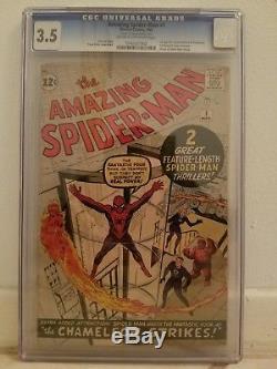The Amazing Spider-Man 1 CGC 3.5 (1963)