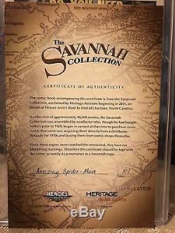 The Amazing Spider-Man #101 CGC 9.2 Savannah Collection