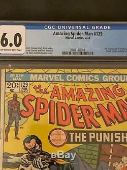 The Amazing Spider-Man #129 CGC 6.0 Certified (Feb 1974, Marvel)