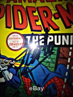 The Amazing Spider-Man #129 CGC 6.0 SIGNED by CONWAY AND LEE 1ST PUNISHER key