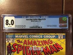 The Amazing Spider-Man #129 CGC 8.0