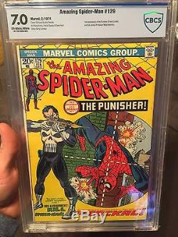 The Amazing Spider-Man #129 Cbcs 7.0. Not Cgc Or Pgx