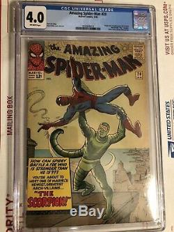 The Amazing Spider-Man #20 (1st Series) CGC 4.0 1st Appearance Scorpion
