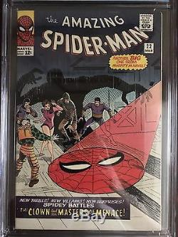 The Amazing Spider-Man #22 CGC 9.2 White Pages