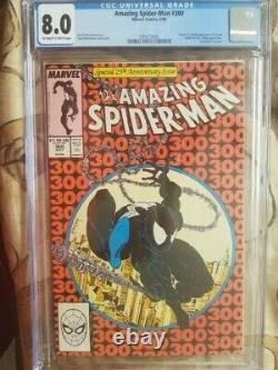 The Amazing Spider-Man #300 CGC 8.0
