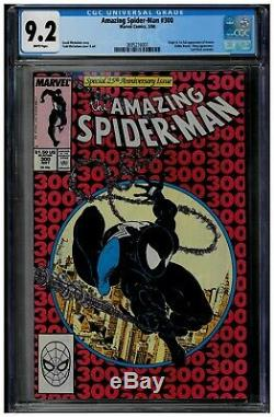 The Amazing Spider-Man #300 CGC 9.2 WHITE Pages 1st full appearance of Venom