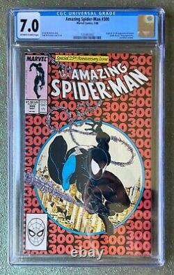 The Amazing Spider-Man #300 (May 1988, Marvel), 1st appearance of Venom, CGC 7.0