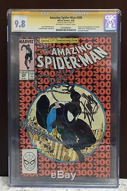 The Amazing Spider-Man 300 cgc 9.8 ss Stan Lee Signed! First Appearance of Venom