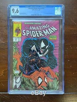 The Amazing Spider-Man #316 (1989) CGC Graded 9.6 Venom & Black Cat APP