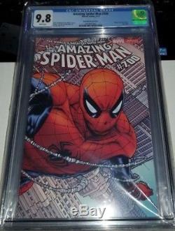 The Amazing Spider-Man #700 CGC 9.8 Quesada Variant DEATH Retailer Incentive