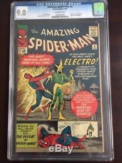 The Amazing Spider-Man #9, CGC 9.0