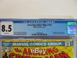The Amazing Spider-Man No. 129 Feb. 1974 Very Fine Plus CGC Grade